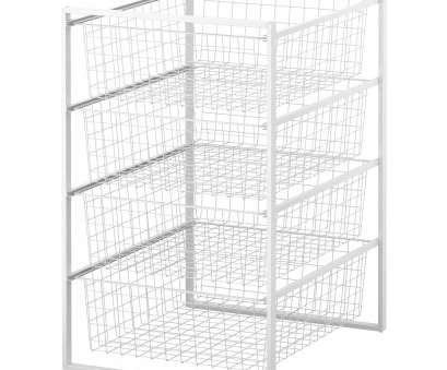 wire basket drawers storage ikea ANTONIUS Frame, wire baskets, white 14 Creative Wire Basket Drawers Storage Ikea Galleries