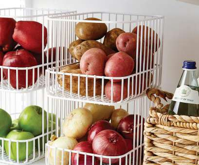 wire basket food storage Scala Steel Wire Stackable Basket 17 Popular Wire Basket Food Storage Images
