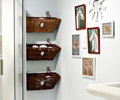 wire basket shelf for bathroom 3 simple small bathroom storage ideas, BlogBeen Wire Basket Shelf, Bathroom Popular 3 Simple Small Bathroom Storage Ideas, BlogBeen Photos