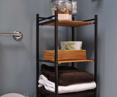 wire basket shelf for bathroom 44 Best Small Bathroom Storage Ideas, Tips, 2018 Wire Basket Shelf, Bathroom Cleaver 44 Best Small Bathroom Storage Ideas, Tips, 2018 Images