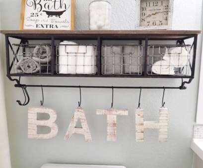 wire basket shelf for bathroom Be Creative With These 15, Bathroom Storage Ideas To Save More Space 12 Wire Basket Shelf, Bathroom Fantastic Be Creative With These 15, Bathroom Storage Ideas To Save More Space 12 Photos