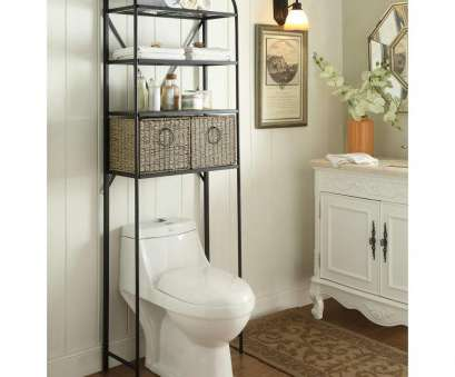 wire basket shelf for bathroom Windsor 24, W x 71.5, H x 15 in D Metal Over, Toilet Storage Space Saver with 2 Woven Baskets in Brown Wire Basket Shelf, Bathroom Best Windsor 24, W X 71.5, H X 15 In D Metal Over, Toilet Storage Space Saver With 2 Woven Baskets In Brown Ideas