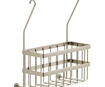 wire basket shelf with towel bar Delta Over-the-Towel, Basket in Brushed Nickel Wire Basket Shelf With Towel Bar Top Delta Over-The-Towel, Basket In Brushed Nickel Pictures