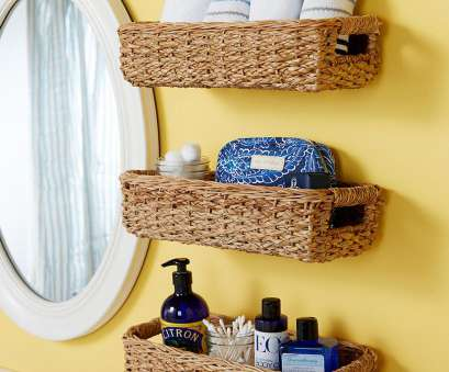 wire basket shelf with towel bar Hacks to Make, Most of Your Tiny Bathroom, Better Homes & Gardens Wire Basket Shelf With Towel Bar Brilliant Hacks To Make, Most Of Your Tiny Bathroom, Better Homes & Gardens Galleries