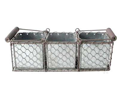 Wire Basket Shoe Storage Cleaver Flat Chicken Wire Rectangular Basket With Handles Ideas