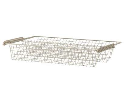 wire basket shoe storage KOMPLEMENT Wire basket, shoes, 39 3/8x22,