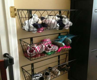 wire basket shoe storage Wire flower baskets, shoe storage, Baby's room in 2018 Wire Basket Shoe Storage Fantastic Wire Flower Baskets, Shoe Storage, Baby'S Room In 2018 Ideas