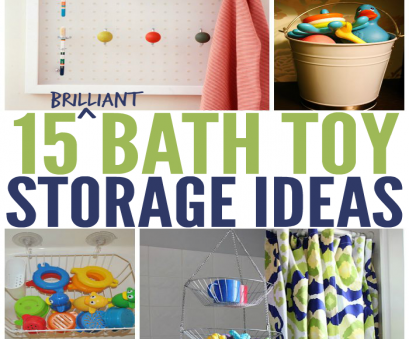 wire basket toy storage 15 Ways to Store Bath Toys, Magically Declutter your Bathroom Wire Basket, Storage Cleaver 15 Ways To Store Bath Toys, Magically Declutter Your Bathroom Solutions