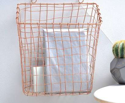 wire basket storage bedroom Wall Mount Wire Basket Cool Design, HomesFeed 8 New Wire Basket Storage Bedroom Pictures