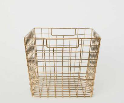 wire basket storage bedroom Metal Storage Basket, Gold-colored,, HOME,, US,, to Wire Basket Storage Bedroom Most Metal Storage Basket, Gold-Colored,, HOME,, US,, To Pictures