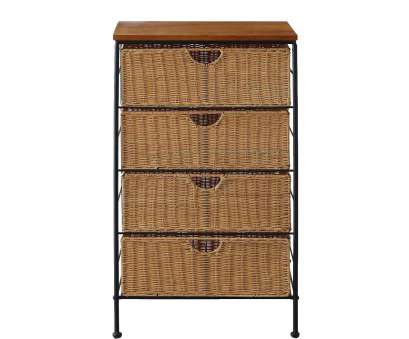 wire basket storage chest of drawers Amazon.com: 4D Concepts 4-Drawer Wicker Stand, Wicker/Metal: Kitchen & Dining Wire Basket Storage Chest Of Drawers Fantastic Amazon.Com: 4D Concepts 4-Drawer Wicker Stand, Wicker/Metal: Kitchen & Dining Solutions
