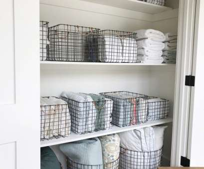 wire basket storage closet Simply Done:, Most Beautiful Linen Closet, Home Organization Wire Basket Storage Closet Popular Simply Done:, Most Beautiful Linen Closet, Home Organization Images