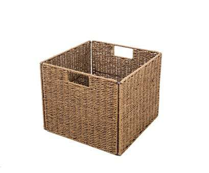 wire basket storage cube Foldable Storage Basket with Iron Wire Frame -, of, by Trademark Innovations Wire Basket Storage Cube Top Foldable Storage Basket With Iron Wire Frame -, Of, By Trademark Innovations Images
