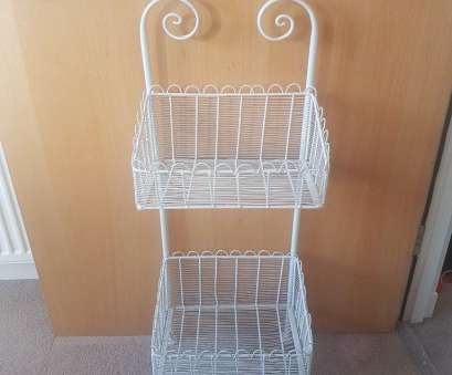 wire basket storage gumtree White Metal Basket Shelving Stand In East End, Glasgow Gumtree Wire Basket Storage Gumtree Cleaver White Metal Basket Shelving Stand In East End, Glasgow Gumtree Collections