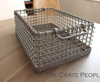 wire basket storage industrial Amazon.com: German Galvanized Metal Bins, Vintage Industrial Metal Wire Baskets, great, keeping organized!: Handmade Wire Basket Storage Industrial Most Amazon.Com: German Galvanized Metal Bins, Vintage Industrial Metal Wire Baskets, Great, Keeping Organized!: Handmade Collections