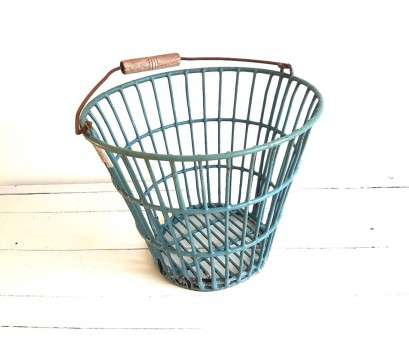 wire basket storage industrial Vintage potato basket, metal wire basket with handle, metal storage basket, industrial decor, Petrol bucket Wire Basket Storage Industrial Most Vintage Potato Basket, Metal Wire Basket With Handle, Metal Storage Basket, Industrial Decor, Petrol Bucket Images