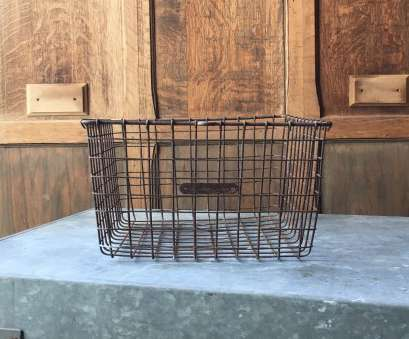wire basket storage industrial Vintage Wire Basket,, Locker Basket, Rustic Industrial Wire Basket, Storage Basket Wire Basket Storage Industrial Fantastic Vintage Wire Basket,, Locker Basket, Rustic Industrial Wire Basket, Storage Basket Photos