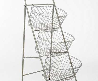 wire basket storage ladder Ladder Storage Basket from Urban Outfitters would be perfect, your knitting, crochet works in progress or just to show, some of your beautiful yarn Wire Basket Storage Ladder Brilliant Ladder Storage Basket From Urban Outfitters Would Be Perfect, Your Knitting, Crochet Works In Progress Or Just To Show, Some Of Your Beautiful Yarn Collections