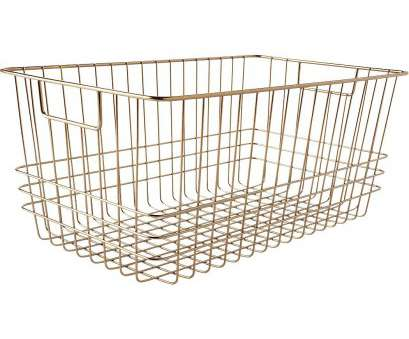 wire basket storage large Glamorous twist on utilitarian style storage. bridgeport metal wire baskets is a, exclusive Wire Basket Storage Large Fantastic Glamorous Twist On Utilitarian Style Storage. Bridgeport Metal Wire Baskets Is A, Exclusive Images