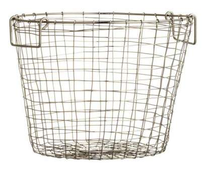 wire basket storage large Large wire basket: Basket in metal wire with, handles at, top. Height 25, diameter 28 cm Wire Basket Storage Large Top Large Wire Basket: Basket In Metal Wire With, Handles At, Top. Height 25, Diameter 28 Cm Solutions