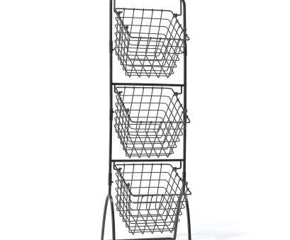 Wire Basket Storage Pantry Brilliant Details About Gourmet Wire Basket Pantry Kitchen Fruit Vegetable Display Organization Storage Images