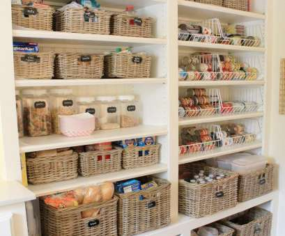 wire basket storage pinterest Turn your cluttered kitchen pantry, kitchen cabinets) into a storage dream with these great pantry organizers Wire Basket Storage Pinterest Creative Turn Your Cluttered Kitchen Pantry, Kitchen Cabinets) Into A Storage Dream With These Great Pantry Organizers Pictures