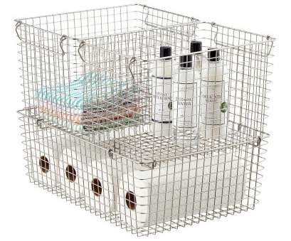 wire basket storage solutions Stackable Wire Storage Baskets with Handles,, Container Store Wire Basket Storage Solutions New Stackable Wire Storage Baskets With Handles,, Container Store Galleries