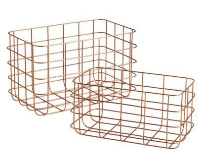 wire basket storage uk CLISSOLD, of 2 copper wire baskets,, now at Habitat, Must, Organized!, Pinterest, Wire basket, Basket organization, Organizations 8 Perfect Wire Basket Storage Uk Pictures