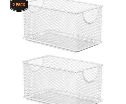 wire basket toy storage Ybm Home Household Wire White Mesh Open, Shelf Storage Basket Organizer, Kitchen, Cabinet, Fruits, Vegetables, Pantry Items Toys 2 Pack 2529vc-2 Wire Basket, Storage Professional Ybm Home Household Wire White Mesh Open, Shelf Storage Basket Organizer, Kitchen, Cabinet, Fruits, Vegetables, Pantry Items Toys 2 Pack 2529Vc-2 Solutions