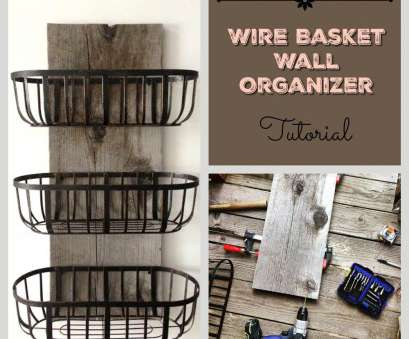 wire basket towel storage Charming Farmhouse Kitchen DIYs, Craft Ideas, Pinterest Wire Basket Towel Storage Perfect Charming Farmhouse Kitchen DIYs, Craft Ideas, Pinterest Images