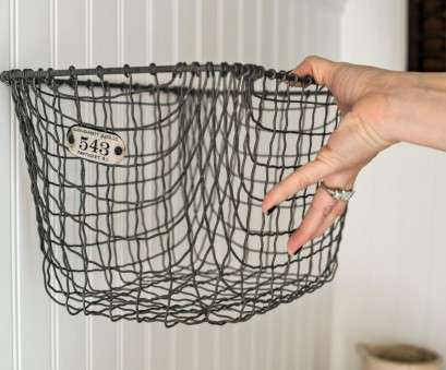 wire basket towel storage Easily Boost Bathroom Storage With Wall-Mounted Baskets, HGTV Wire Basket Towel Storage Creative Easily Boost Bathroom Storage With Wall-Mounted Baskets, HGTV Solutions