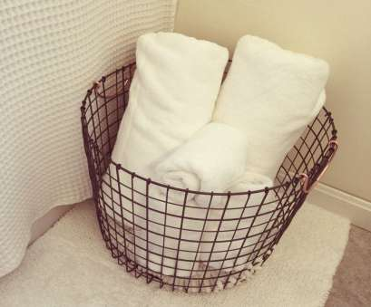 wire basket towel storage Pin by samantha zaphiris, health + lifestyle on home, Pinterest Wire Basket Towel Storage Most Pin By Samantha Zaphiris, Health + Lifestyle On Home, Pinterest Ideas