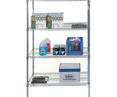 wire chrome heavy duty shelving 4-Shelf Wire Shelving Rack Image Wire Chrome Heavy Duty Shelving Nice 4-Shelf Wire Shelving Rack Image Solutions