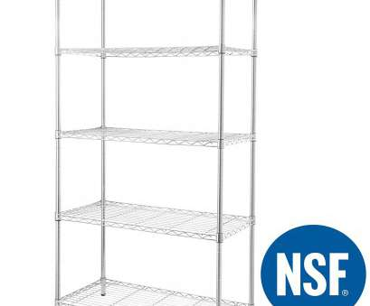wire chrome heavy duty shelving eeZe Rack ST-ETI003 HEAVY DUTY Steel Wire Chrome Shelving, Storage Rack, NSF Wire Chrome Heavy Duty Shelving New EeZe Rack ST-ETI003 HEAVY DUTY Steel Wire Chrome Shelving, Storage Rack, NSF Ideas