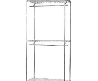 wire chrome shelving unit clothes rail Chrome Wire Clothes Rail, Shelves, Rail 14 Brilliant Wire Chrome Shelving Unit Clothes Rail Images