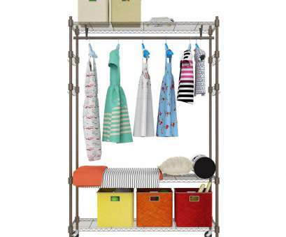 wire chrome shelving unit clothes rail Amazon.com: Wire Shelving Unit with Hanging Rods, Adjustable Hanger Hooks: Home & Kitchen Wire Chrome Shelving Unit Clothes Rail New Amazon.Com: Wire Shelving Unit With Hanging Rods, Adjustable Hanger Hooks: Home & Kitchen Collections