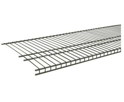 wire closet shelving depth ClosetMaid SuperSlide 72, W x 16, D Nickel Ventilated Wire Shelf-34735 -, Home Depot Wire Closet Shelving Depth Fantastic ClosetMaid SuperSlide 72, W X 16, D Nickel Ventilated Wire Shelf-34735 -, Home Depot Collections