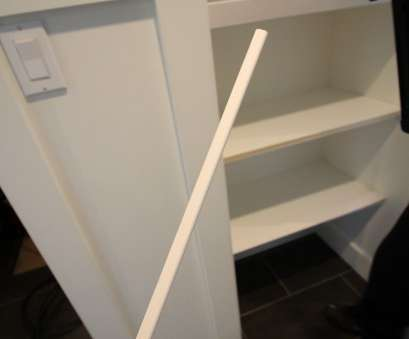 Wire Closet Shelving Depth Perfect I Only Chose This, Because It, Such A Small Depth So We, Enough Space, It In, Closet Once Attached To, 16″ Deep Pine Shelves Images