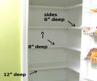 wire closet shelving dimensions Kitchen Pantry Makeover, Installing Wood Wrap Around Shelving Wire Closet Shelving Dimensions Nice Kitchen Pantry Makeover, Installing Wood Wrap Around Shelving Ideas