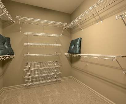 wire closet shelving ideas Large walk-in master closet with wire shelving, Riviera Ranch Wire Closet Shelving Ideas Practical Large Walk-In Master Closet With Wire Shelving, Riviera Ranch Pictures