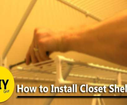 Wire Closet Shelving Repair Perfect Installing Closet Maid Wire Shelving Images