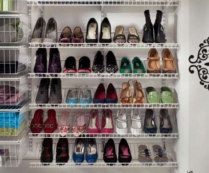 wire closet shelving for shoes The Best, Creative Shoe Storage Ideas On A budget /20-creative-shoe -storage-ideas-on-a-budget/ 14 Brilliant Wire Closet Shelving, Shoes Pictures