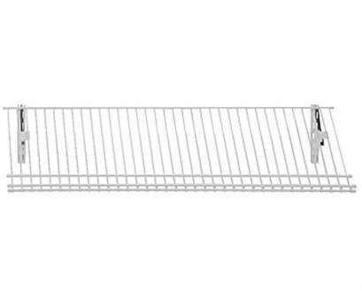 wire closet shelving for shoes ClosetMaid ShelfTrack 11.25, D 36, W, in. H 5-Pair Ventilated Wire Shoe Shelf Steel Closet System Wire Closet Shelving, Shoes Most ClosetMaid ShelfTrack 11.25, D 36, W, In. H 5-Pair Ventilated Wire Shoe Shelf Steel Closet System Ideas