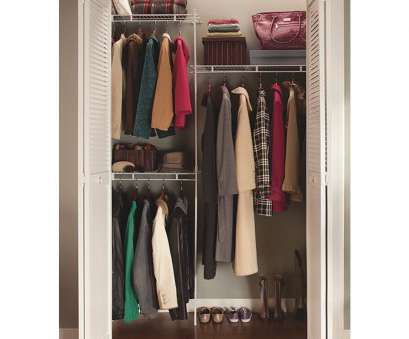 wire closet shelving vertical support pole ClosetMaid 5' Shelf, Rod Closet System, 164000, Midway Wire Closet Shelving Vertical Support Pole Most ClosetMaid 5' Shelf, Rod Closet System, 164000, Midway Solutions