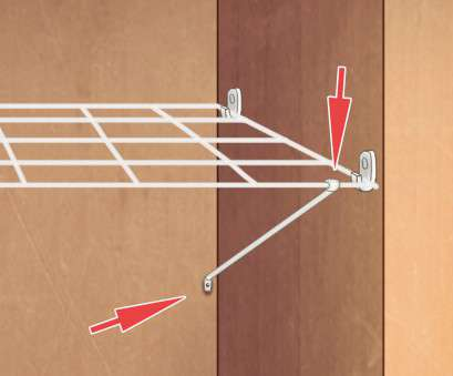 wire closet shelving vertical support pole How to, Shelves to a Closet: 7 Steps (with Pictures), wikiHow Wire Closet Shelving Vertical Support Pole Perfect How To, Shelves To A Closet: 7 Steps (With Pictures), WikiHow Galleries