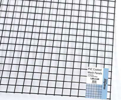 wire pvc coated mesh 60 x 90 cm Marko Fencing 1.8M x 0.6M Green, Coated Wire Mesh Panels Sheet 1