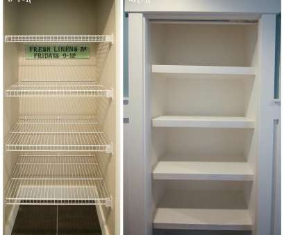 wire frame closet shelving How to Replace Wire Shelves with, Custom Wood Shelves, The Wire Frame Closet Shelving Brilliant How To Replace Wire Shelves With, Custom Wood Shelves, The Images