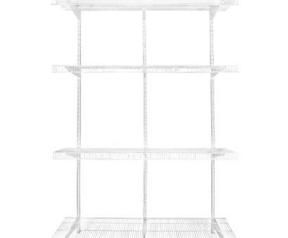 wire frame closet shelving Rubbermaid FastTrack Pantry 4-ft to 4-ft White Adjustable Mount Wire Shelving Kits Wire Frame Closet Shelving Best Rubbermaid FastTrack Pantry 4-Ft To 4-Ft White Adjustable Mount Wire Shelving Kits Pictures
