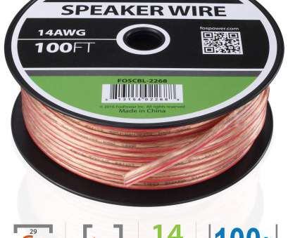 wire gauge 14 awg Amazon.com: FosPower 14AWG Speaker Wire, Gauge,, FT] Premium Spooled Oxygen-Free Copper, Speaker Wire with Clear, Jacket & Polarity Stripe: Wire Gauge 14 Awg Simple Amazon.Com: FosPower 14AWG Speaker Wire, Gauge,, FT] Premium Spooled Oxygen-Free Copper, Speaker Wire With Clear, Jacket & Polarity Stripe: Images
