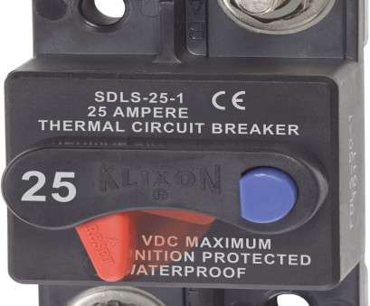 wire gauge for 25 amp breaker Klixon Circuit Breaker, Surface Mount,, Blue, Systems Wire Gauge, 25, Breaker Cleaver Klixon Circuit Breaker, Surface Mount,, Blue, Systems Pictures